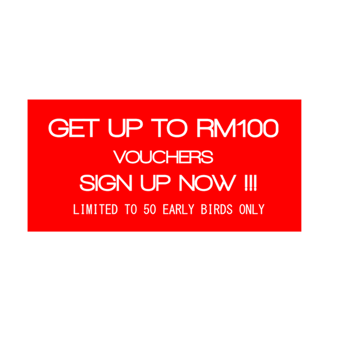 RM100 VOUCHERs for GRAB ! LIMITED !